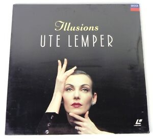 UTE-LEMPER-ILLUSION-LASERDISC-PAL-DECCA-NUOVO-SIGILLATO-NEW-SALED