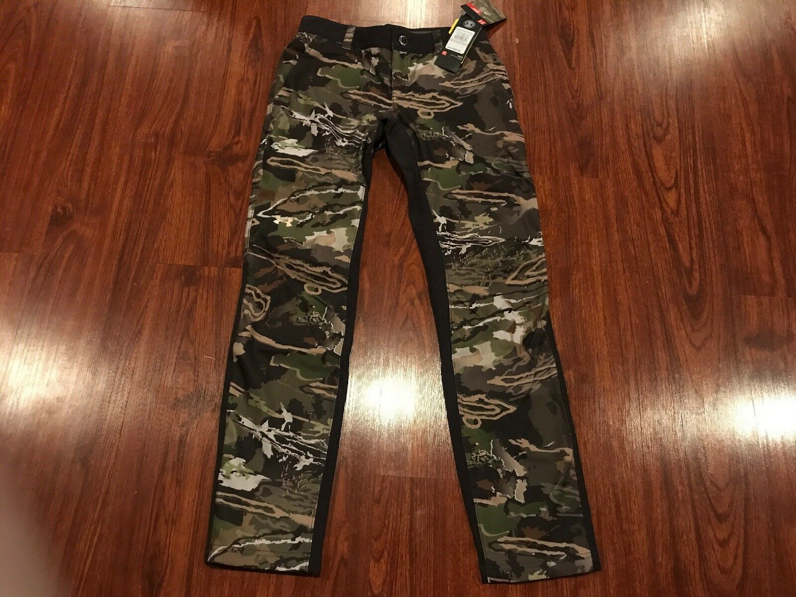 Under Armour UA Damens's Fitted Early Season Hunting Storm Forest Hunting Season Pants Größe 6 423fd5