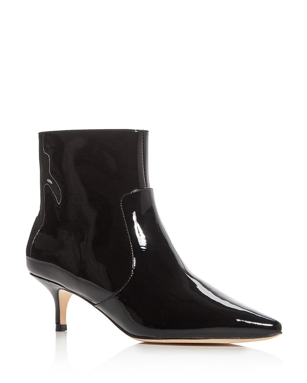 Bettye Pointed Muller Astor Pointed Bettye Toe Booties Black Size 7.5 NIB f3d225