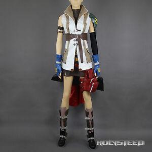 Final-Fantasy-XIII-FF13-Lightning-Cosplay-Costume-Suit-Full-Set-Custom