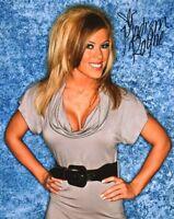 TNA SIGNED PHOTO MADISON RAYNE KNOCKOUT WRESTLING WITH PROOF & COA