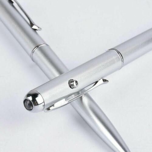 Pocket Tactical Flashlight Torch DEL Laser Uv Torch invisible Pen Ink Ballp p6l8