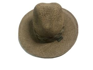 Chi-Chi-Rodriguez-Vintage-Straw-Hat-One-Size-Panama-Fedora-Made-In-USA