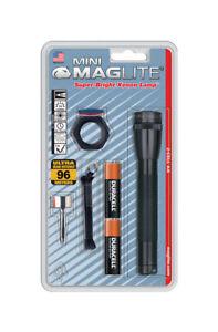 Maglite-Mini-14-lumens-Flashlight-Combo-Kit-Incandescent-AA-Black