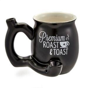 Negro-Mate-Premium-asado-y-tostadas-pequena-taza-de-cafe-11-onzas-nuevo