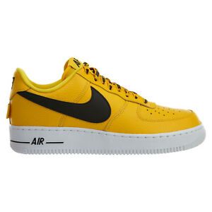 Details about Nike Air Force 1 '07 LV8 NBA Pack Mens 823511-701 Amarillo  Black Shoes Size 13