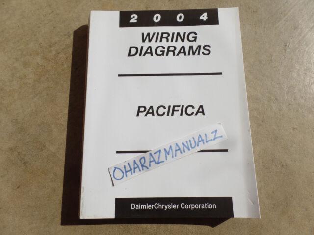 2004 Chrysler Pacifica Wiring Diagrams Manual OEM | eBay