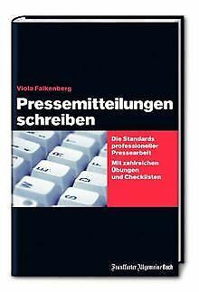 Pressemitteilungen schreiben: Die Standards profess... | Buch | Zustand sehr gut