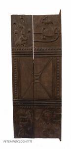 Porta Di Loft Baule 163 X 65 CM Arte Africano 344