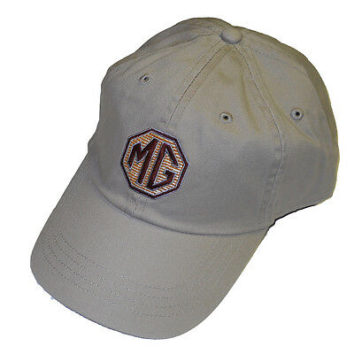 MG Beige embroidered hat - MGB etc