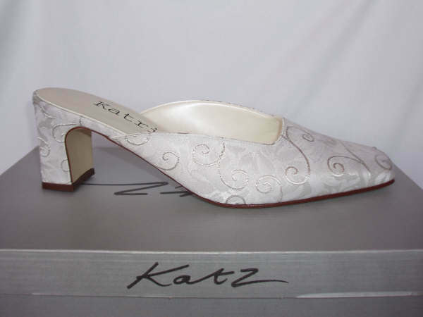 Silver bridal wedding bridesmaid Occasion Party shoes Charlotte All Sizes
