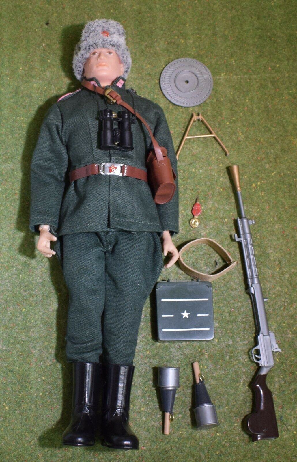 ORIGINAL VINTAGE ACTION MAN LOOSE RUSSIAN INFANTRYMAN - 194