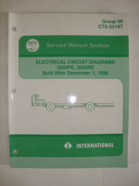 International Service Manual Section Electrical Circuit