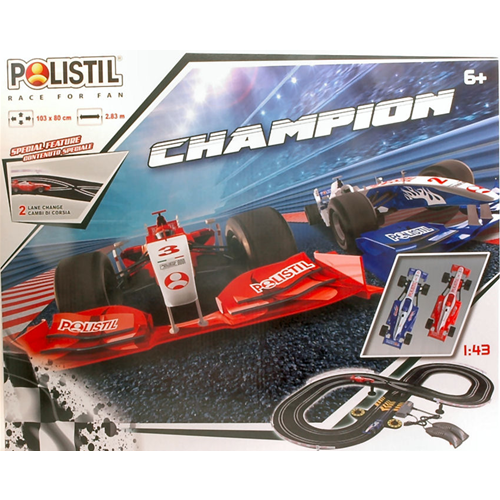 PISTA CHAMPION cm 103x80 1:43 Polistil - Slot - Pista