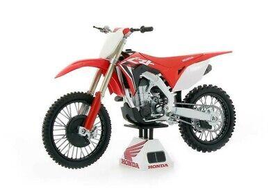 MINIATUR 1:18 Modell YAMAHA YX 450 F Motocross Enduro MX Cross Bike Spielzeug