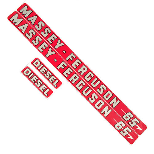 DECAL SET For Massey Ferguson 65