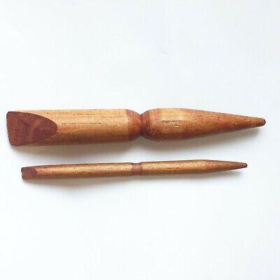 x 2 pcs Foot, Palm Massage Sticks, Wooden Tools ...