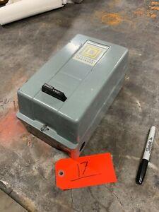 Square-D-Magnetic-Starter-Nema-Sz-1-Model-G03B86-Class-8536-Type-SCG3-3-Phase