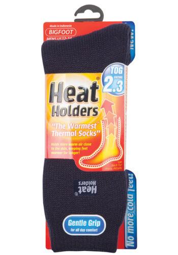 3 paires de véritables hommes femmes enfants HEAT HOLDERS Thermal Hiver Chaud Chaussettes 2.3 Tog