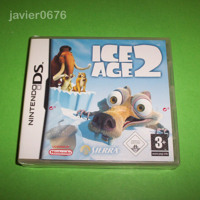 ICE AGE 2 - NUEVO Y PRECINTADO PAL ESPAÑA NINTENDO DS