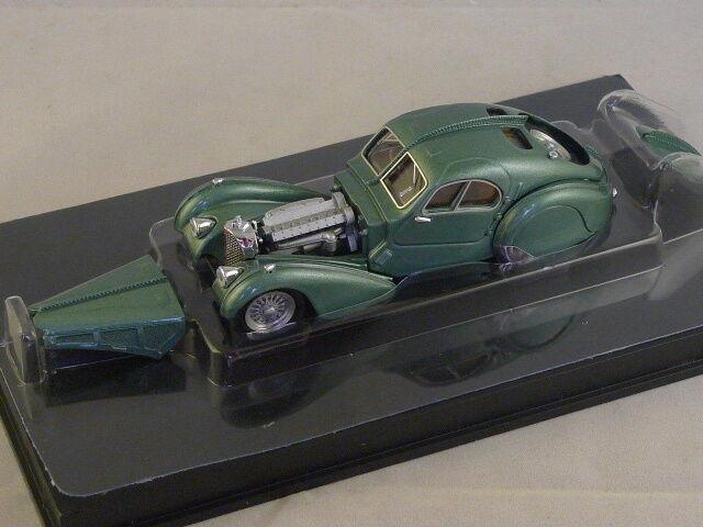 RIO 4313 -  BUGATTI 57 SC ATLANTIC 1938 VERT METAL  - 1 43  prix de gros et qualité fiable
