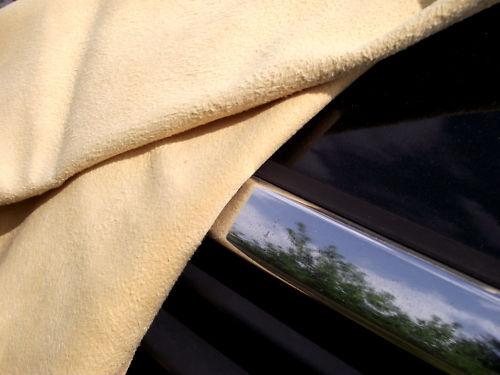 Fensterleder Premiumware Ledertuch Lederlappen 86x66cm