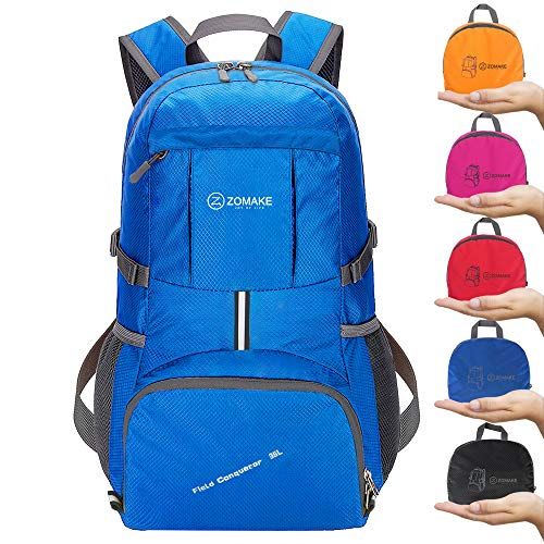 583269a68d34 ZOMAKE Ultra Lightweight Hiking Backpack 35l Packable Water Resistant  Travel D
