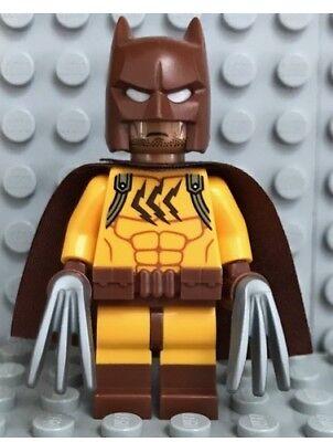 New Lego Catman Minifigure w// Cape /& Bladed Claws from 71017 Batman Movie Series