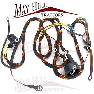 massey ferguson 35 3 cyl tractor wiring loom 7128. Black Bedroom Furniture Sets. Home Design Ideas