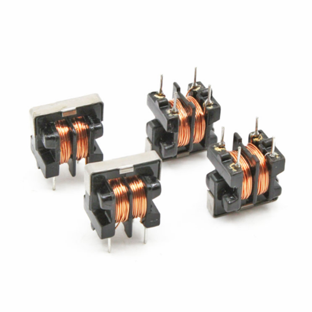 10//20PCS UU9.8 UF9.8 50mH 50MH Pitch 7*8mm Common Mode Choke Inductor Filter