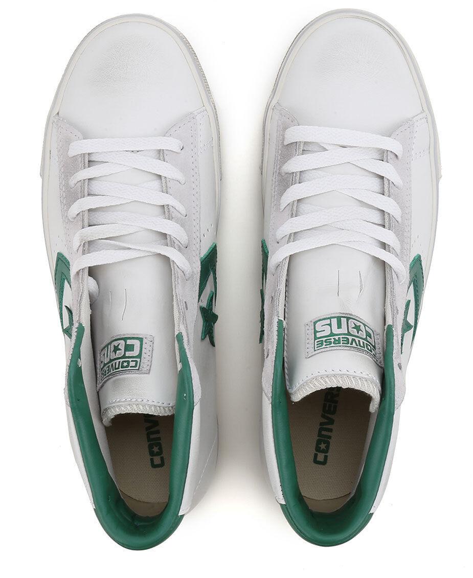CONVERSE CONVERSE CONVERSE CT HI-Col.bianca verde-ART.155097C-scarpe da ginnastica Unisex - Leather 6deae7