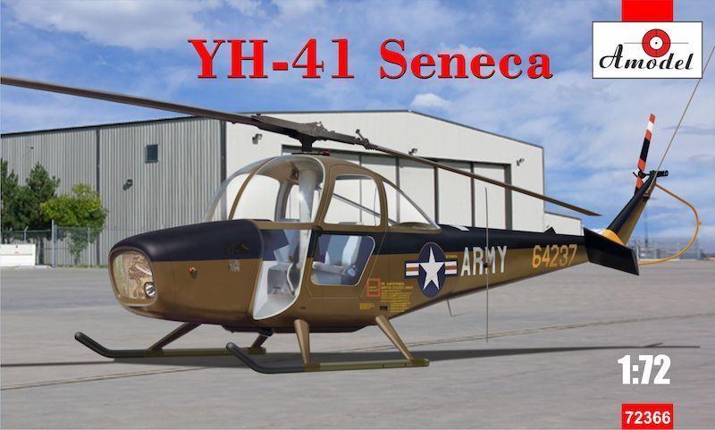 Amodel 1 72 72 72 Cessna Yh-41 Seneca e121d4