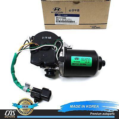 Left Genuine Hyundai 98310-2H000 Windshield Wiper Arm Assembly