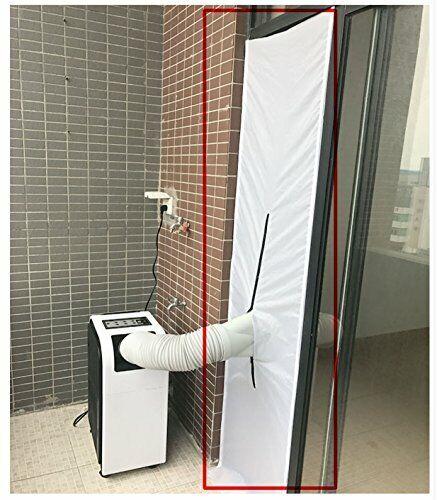 Yinong 210 x 45 cm AirLock Fensterabdichtung für mobile Klimageräte,