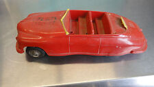 Vintage 1940's Packard Fire Chief Friction Toy Car 1949 ? M863 Model Metal Frame