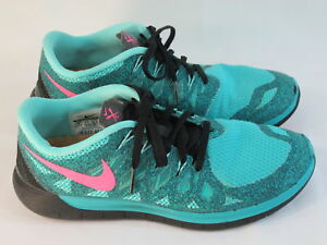 buy popular 3c8ce 5f5cf Nike Free 5.0 Running Shoes Women's Size 9 US Excellent Plus ...