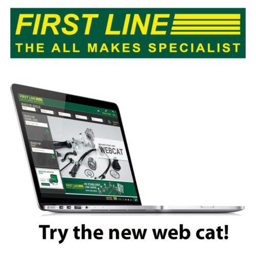 FHN204 FIRST LINE HUB NUT fits Ford Rear