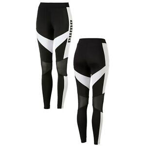 Puma-Archive-T7-Womens-Leggings-Training-Gym-Tight-Black-575617-01-R14i