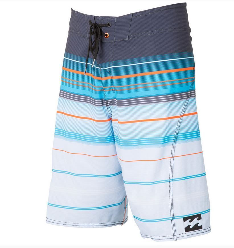 2015 NWT MENS BILLABONG ALL DAY X STRIPE BOARDSHORTS  32 char swimsuit
