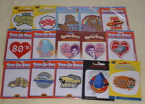 Retro-Iron-On-Patch-Patches-Make-Your-Choice-New-List-1-of-2