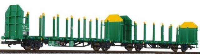 Ep grün//gelb V-VI   Neuware Flachwagen Laaps 565 DB Liliput H0 235244