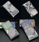 My Neighbor Totoro Coin Wallet Purse Layers Holder Zipper Cute 4color