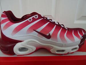Détails sur Nike Air Max Plus TN se Baskets AQ0237 101 UK 10 EU 45 US 11 Neuf + Boîte afficher le titre d'origine