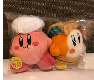 Kirby Cafe Store Limited Kirby /& Waddle Dee Plush Dolls 2pcs Stuffed Toy Rare