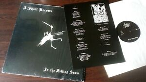I Shall become - In The Falling Snow .  Black metal.  Vinyl LP . [2008]