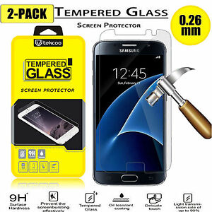 2-Pack-HD-Clear-Tempered-Glass-Film-Screen-Protector-for-Samsung-Galaxy-S7
