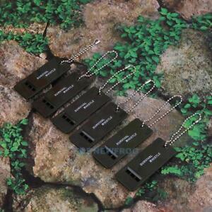 6x-3-Frequenz-Notfall-Survival-Pfeife-Signalpfeife-Trillerpfeife-Rettungspfeife