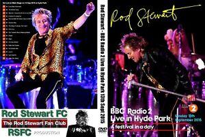 ROD STEWART. LIVE AT HYDE PARK. BBC RADIO 2. DVD.