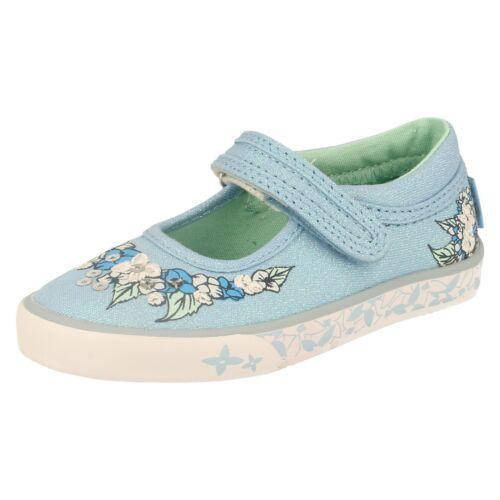 Summer Serenity Girls Start Rite Canvas Shoes