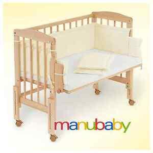 Culla co sleeping da affiancare al letto legno - Culla neonato da attaccare al letto ...
